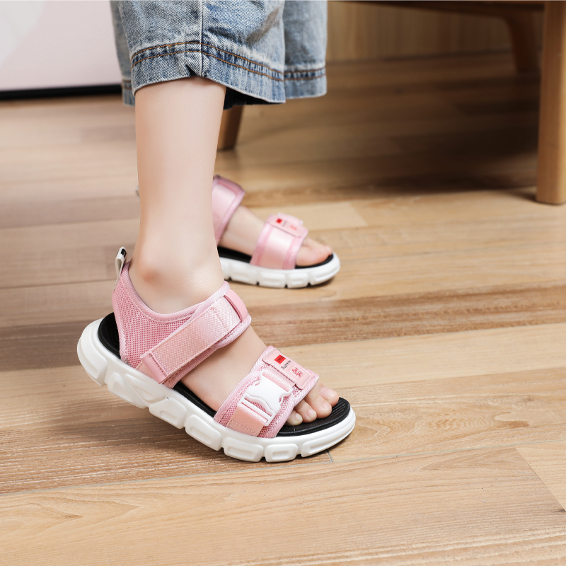 Fanhao childrens shoes 2020 summer Unisex middle school and primary school students wear resistant and antiskid fashion sandals childrens beach shoes