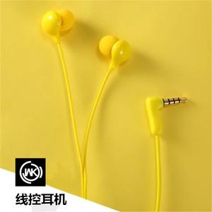 WK(手机及配件)WI200适用于香港wk新品线控手机耳机安卓iphone