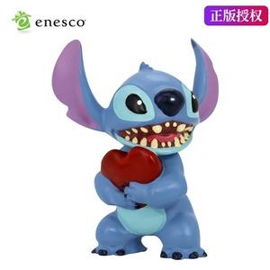 enesco 星际宝贝史迪奇手办摆件Stitch史迪仔q版动漫公仔礼物模型