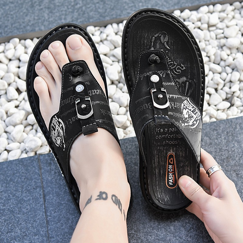 High quality large size sandals mens 45 extra fat casual flip flop 46 summer clip slipper 47 large size sports sand
