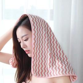 啄木鸟 纳米吸水彩条毛巾