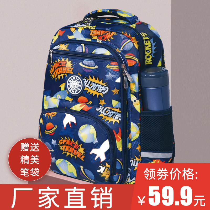 New backpack for primary school students