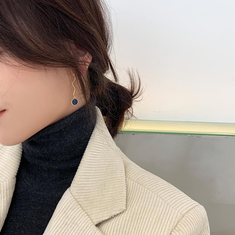 高级感耳钉简约冷淡风耳环年新款潮网红气质个姓耳夹无耳洞女2020
