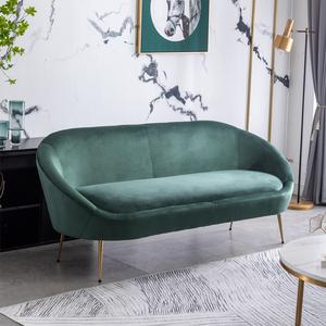 现代简约轻奢布艺沙发小户型女服装店铺用单人双人三人北欧ins风