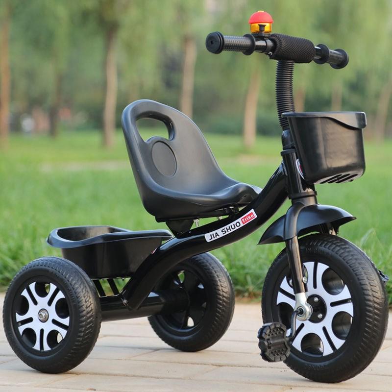 儿童三轮车脚踏车1-3-2-6岁婴幼儿手推车自行车遛弯神器童车脚蹬
