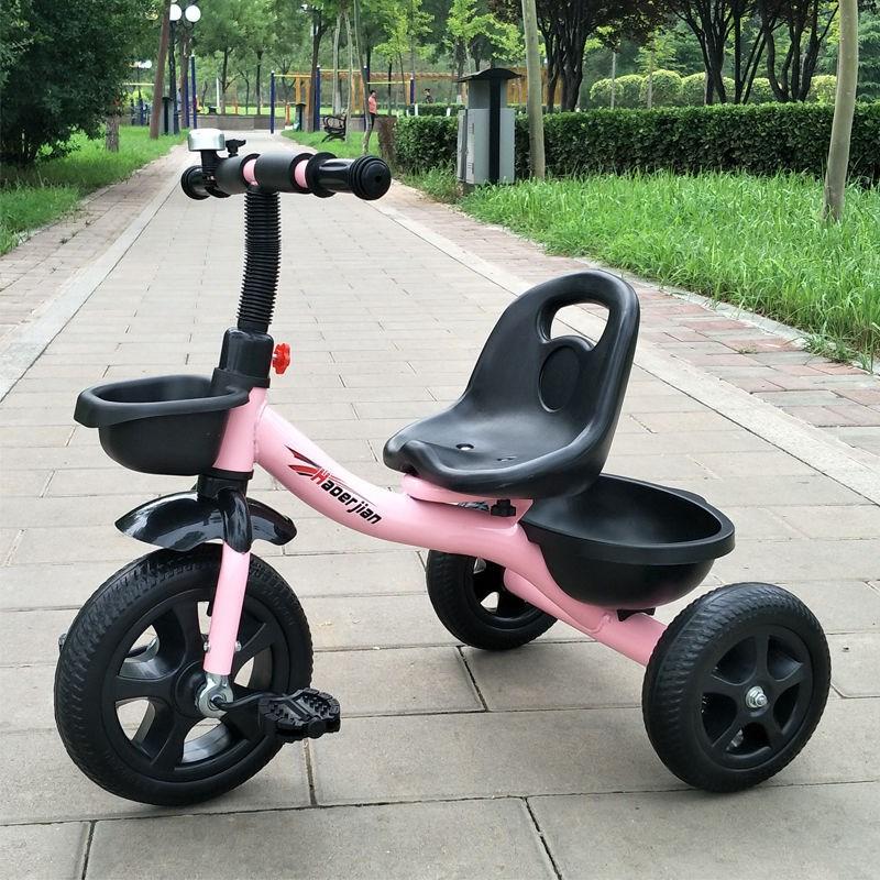 儿童三轮车宝宝脚踏车1-3-5岁婴儿手推车小孩脚蹬三轮童车自行车