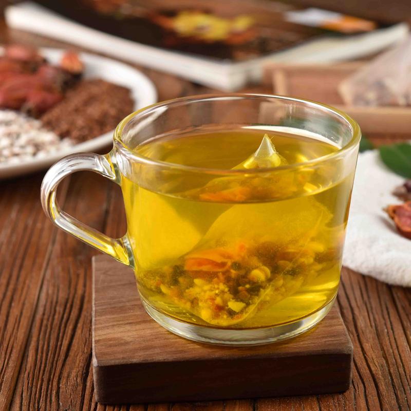 56.80元包邮2019新品红豆薏米祛湿茶芡实薏仁栀子20袋入去湿气适合女生喝的茶