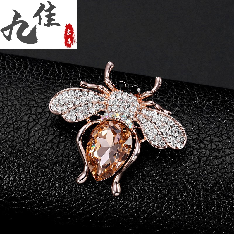 Small bee Brooch exquisite mini small cute trinkets high grade female elegant Brooch accessories
