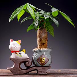 创意个性开业大吉招财猫小摆件家居客厅家用办公桌风水招福猫摆设图片