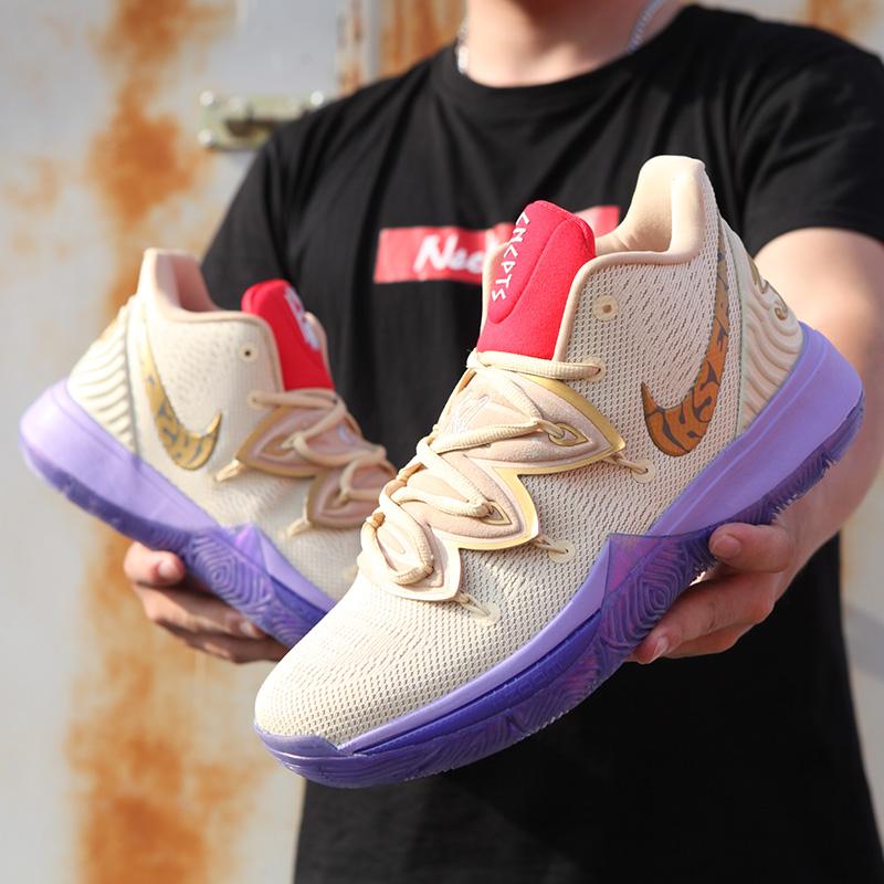 莱仕奴联名lhsernd正品欧文5代篮球鞋黑魔法埃及毒液运动鞋男鞋子