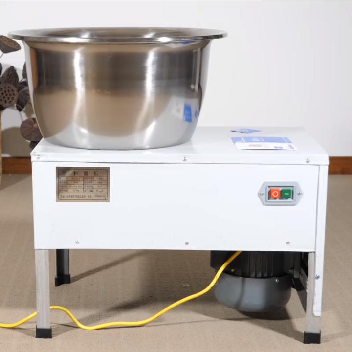 盆式和面机家用小型全自动揉面机厨师机智能醒面5L大容量活搅面机