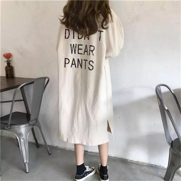 春季2020年新款港风女卫衣连衣裙
