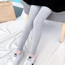 女童打底裤外穿2021春秋装新款洋气童装中儿童长裤秋季女宝宝裤子