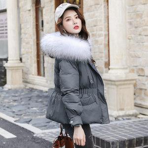 冬季羽绒棉服女2019新款派克服冬装棉衣短款韩版加厚棉袄外套爆款