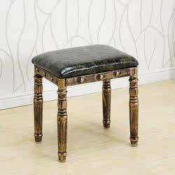 发廊等候椅子理发店沙发等候椅复古等候椅美发店候客椅等候沙发椅