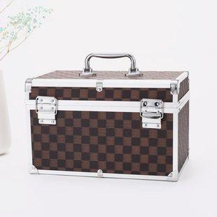 分类采耳工具箱专业手提美容用品产品储物箱按摩多格翻盖美甲箱手图片