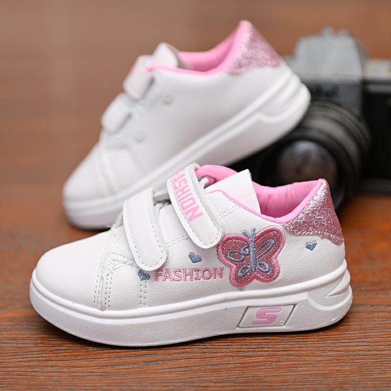 买三送一女童2019新款韩版春季学生儿童童鞋