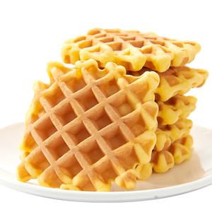 王冬有软华夫饼早餐蛋糕网红黄油