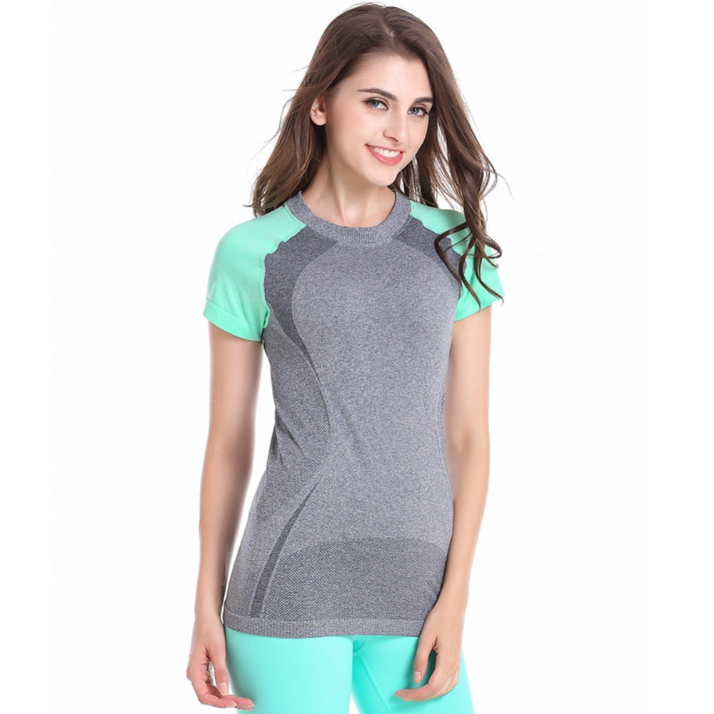 ve Sports T-shirt Fitness Yoga Runnning Athletic Tee Outdoor
