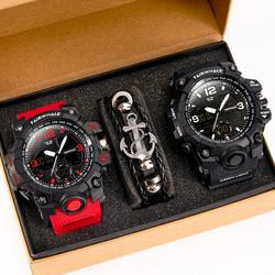 马克华菲新款电子男士十大高中手表