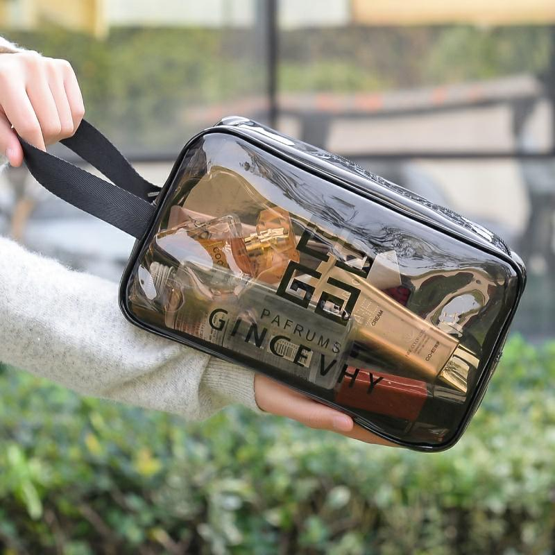 Daily necessities toiletries Hotel dormitory mens transparent makeup Korean luggage travel life bag storage bag skin care