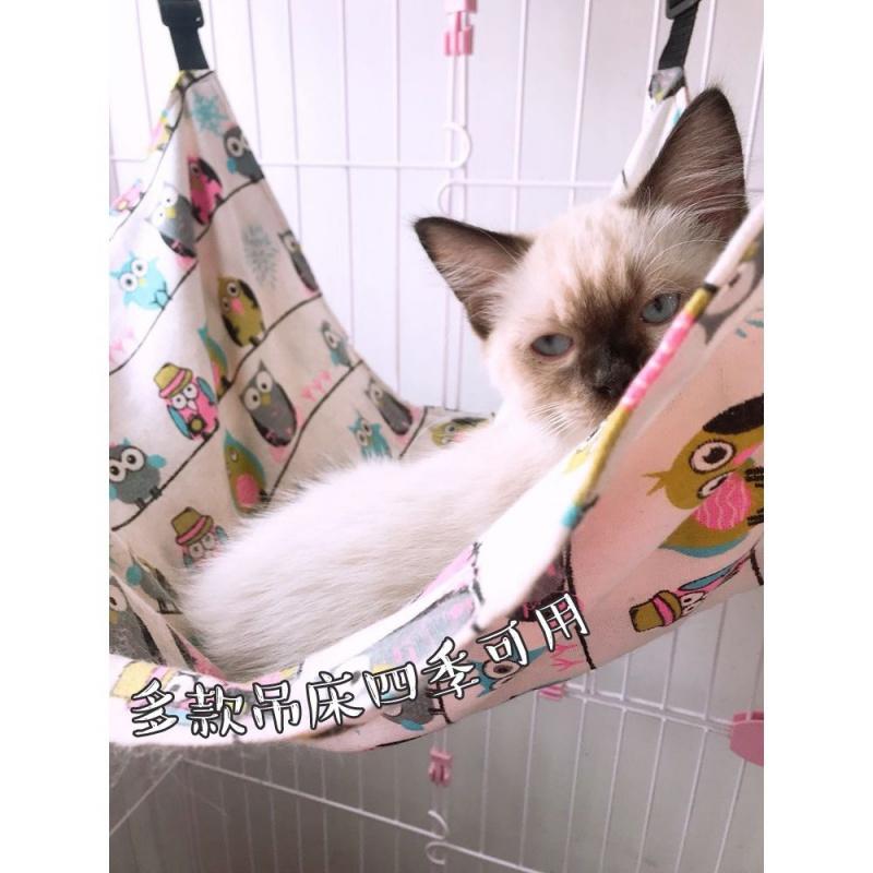 猫吊床挂窝猫咪吊床挂式秋千春夏季薄款笼子用装吊篮宠物用品透气