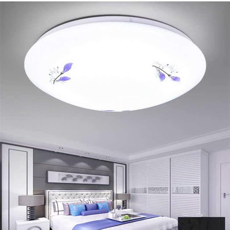 LED吸頂燈圓形遙控大氣客廳燈具現代簡約卧室燈陽臺燈餐廳燈飾