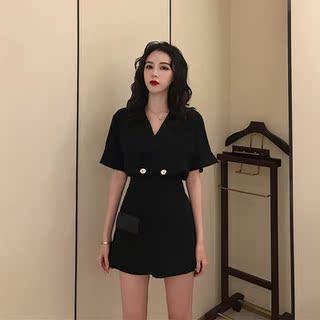 网红洋气减龄搭配短裙套装2020年夏季新款女装时尚气质显瘦两件套