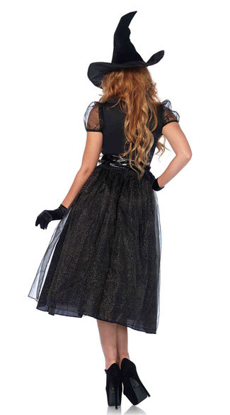 Halloween stage sexy vampire Witch Costume role play game uniform witch uniform woman
