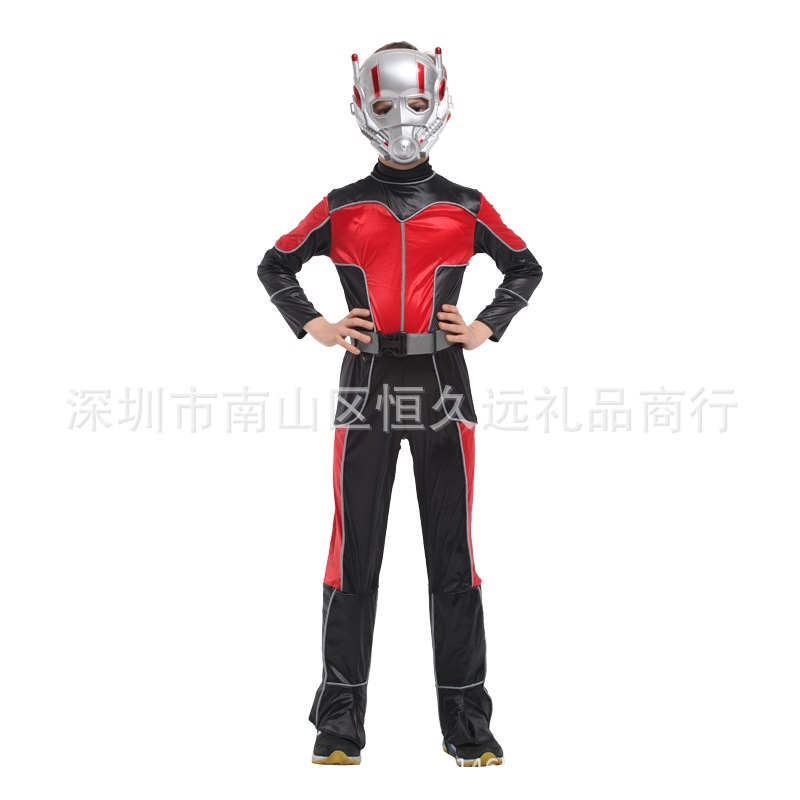 Costumes invincible New Halloween costume ball role play Avenger alliance costume children