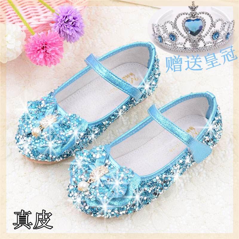 韩版单鞋女童鞋黑色春秋演出儿童皮鞋学生秋季礼服钢琴鞋子童装