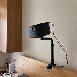 影配微型投影仪床头支架桌面支架适用于极米Z6X小米青春版等单孔投影机通用免打孔支架可伸缩图片