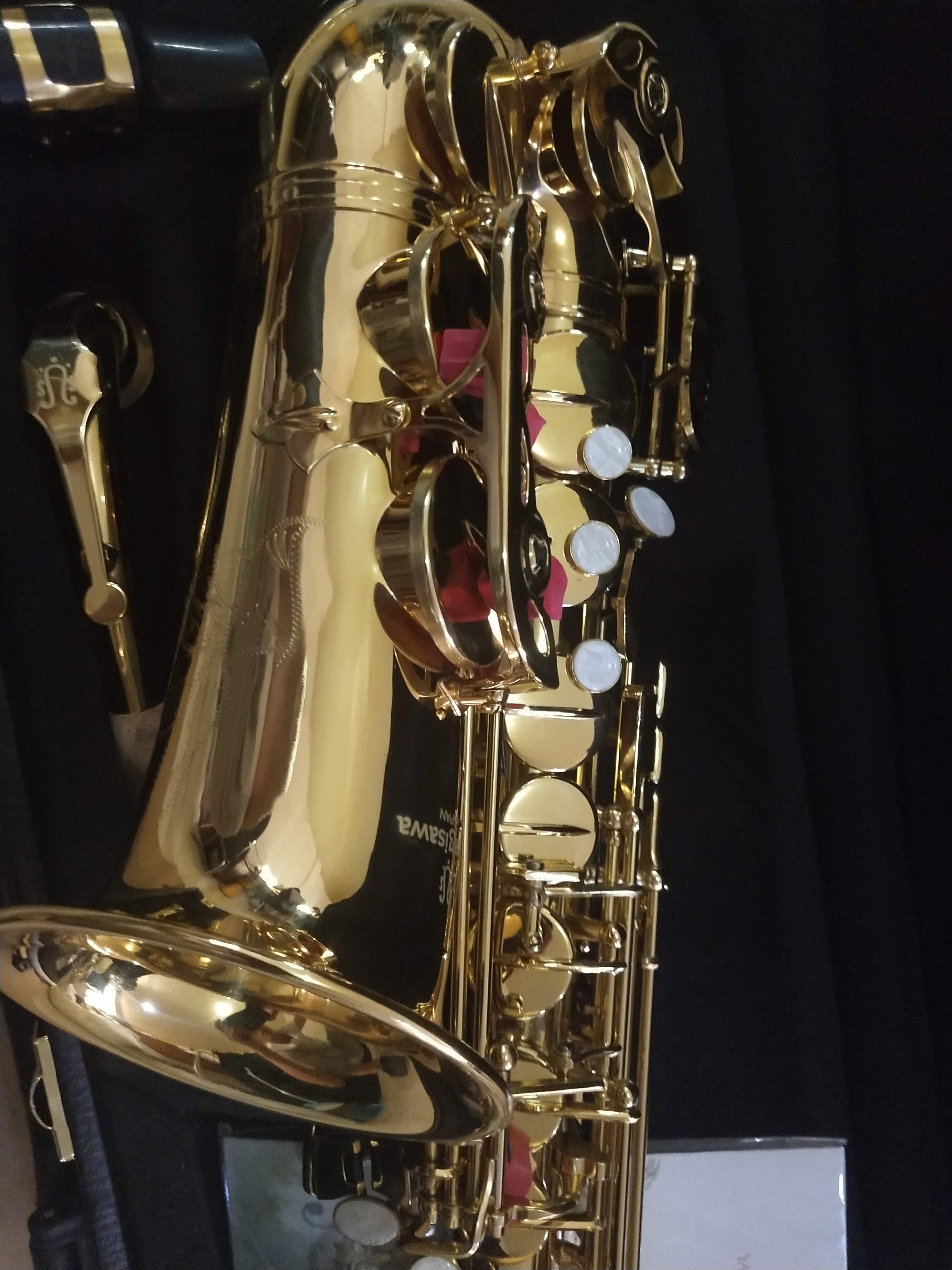 新日本原装柳泽中音萨克斯乐器A901中音萨克斯风管乐器专业演奏