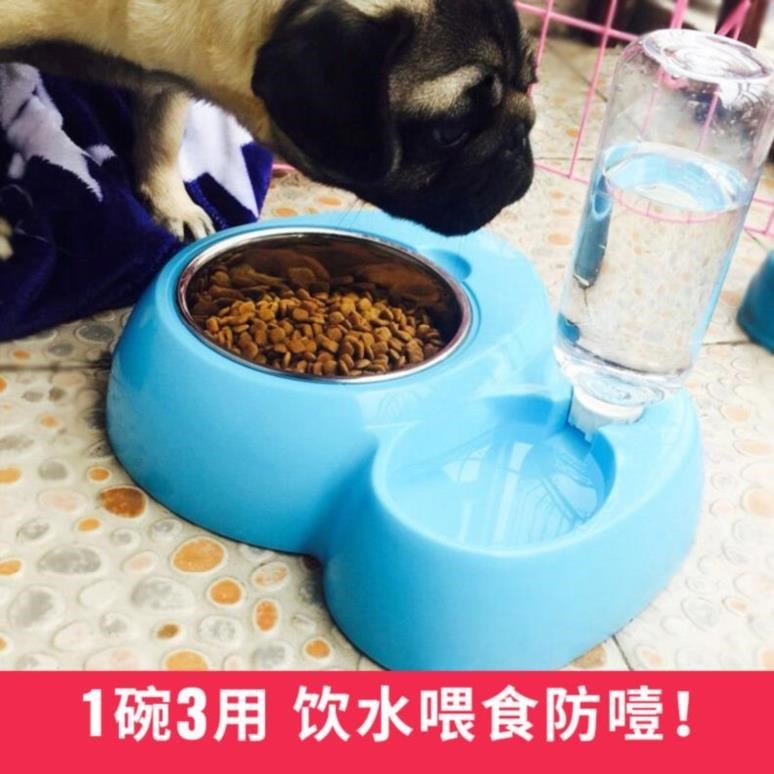 Indoor water tank pet supplies dog supplies full set Teddy suit life accessories daily cat bowl