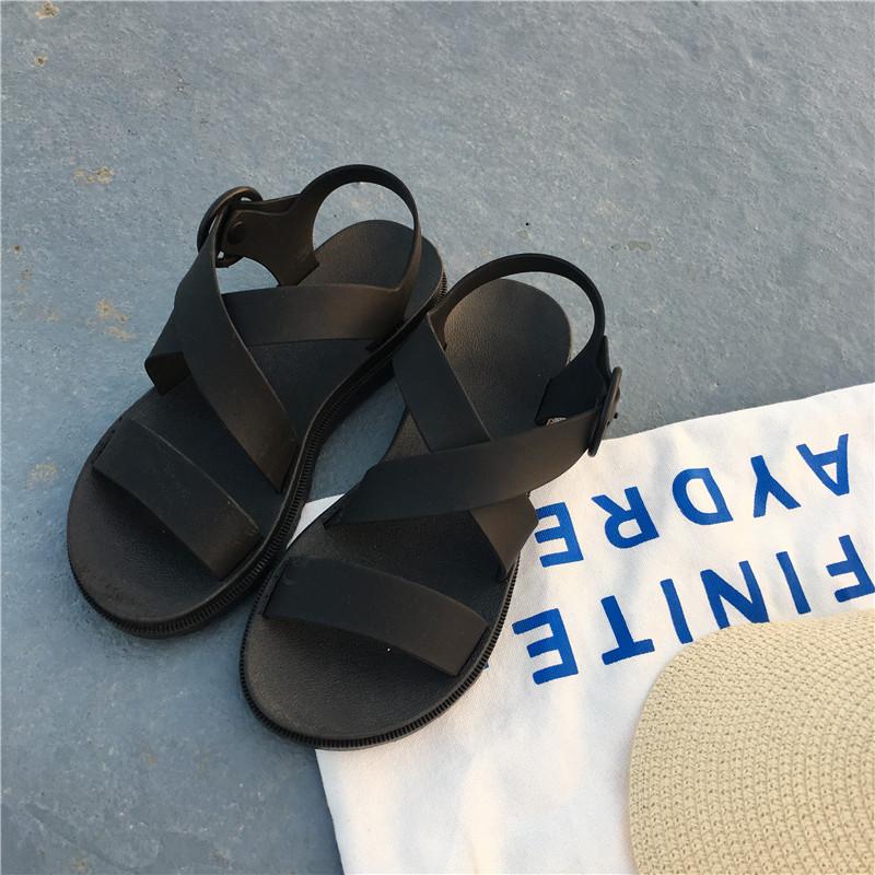 平底女外穿塑料防滑防水雨鞋果冻鞋评测好不好