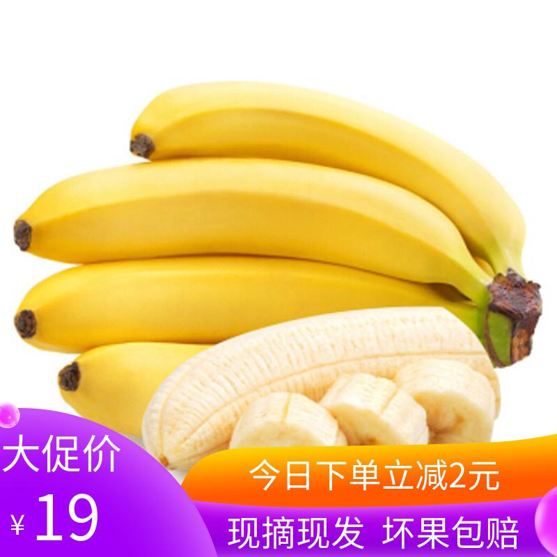 漳州天宝香蕉新鲜当季水果5斤装香甜5斤装bannana皇帝蕉芭蕉包邮