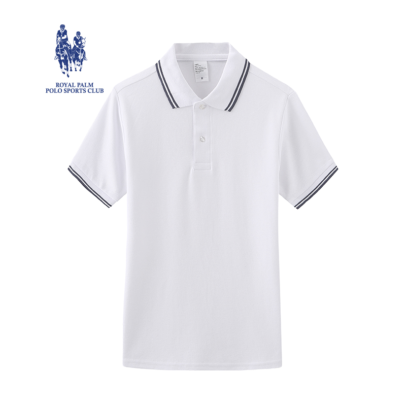 Royal Palm Polo Club polo shirt mens short sleeve 2020 summer new American casual mens Polo t