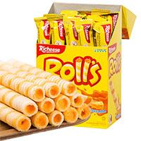 印尼进口 丽芝士RICHEESE奶酪味芝心棒60g/180g盒装休闲零食饼干
