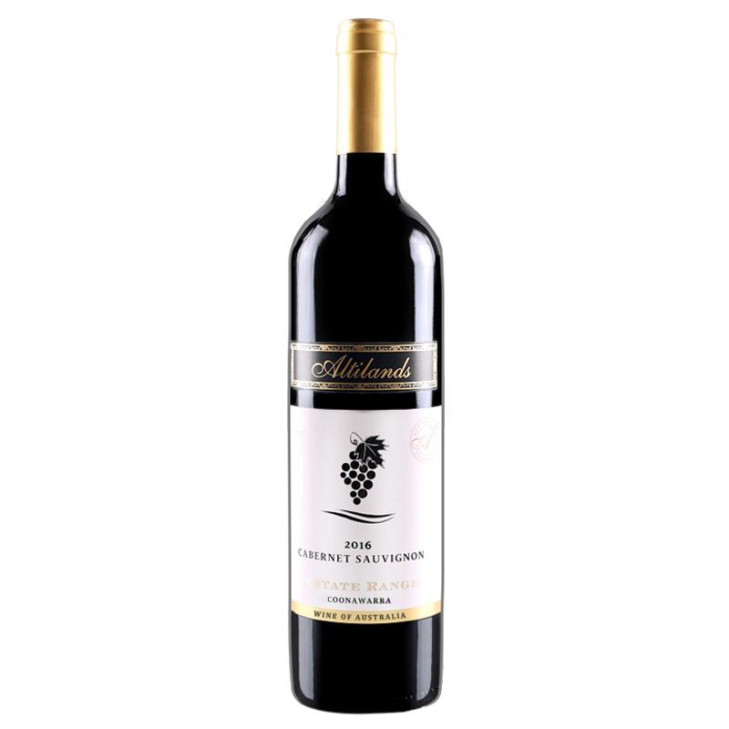 奥蒂兰丝澳洲原瓶进口红酒 红葡萄酒赤霞珠干红葡萄酒750ml
