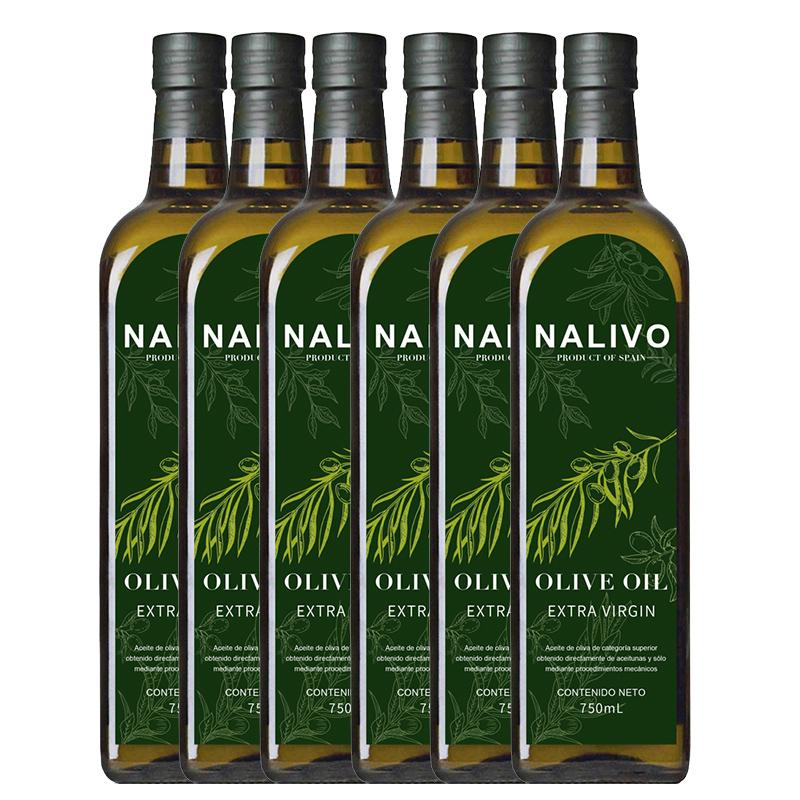 Anluoli extra virgin olive oil 750ml * 6 bottles of imported olive oil