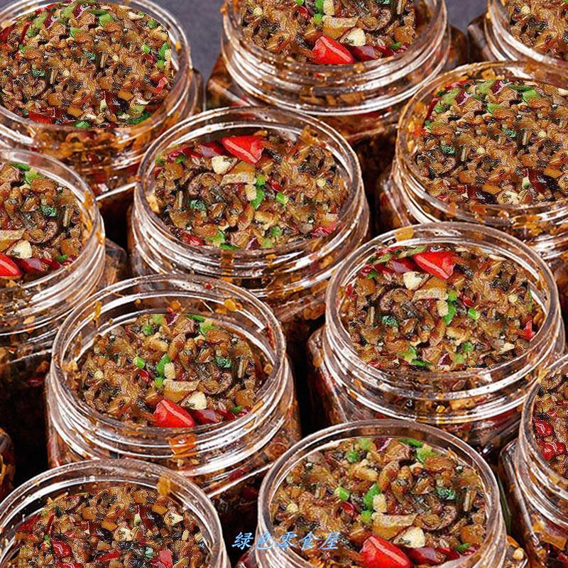 Spicy dishes, Hunan specialty, grandmas dishes, homemade farmhouse, pickled vegetables, bottled bibimbap, noodles, pickles, Xiangxi dried vegetables