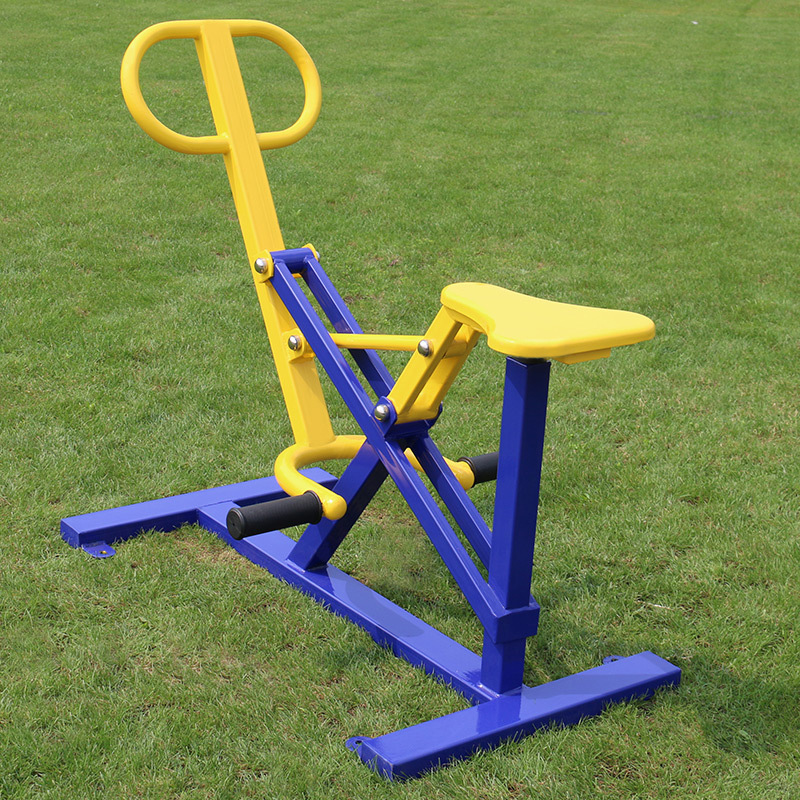 Outdoor fitness equipment single fitness machine elderly Park Square outdoor facilities community fitness equipment Z52