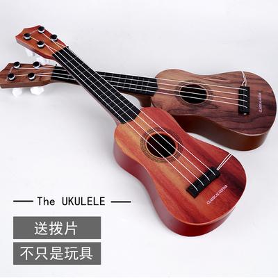 儿童音乐大吉他可弹奏尤克里里初学者仿真乐器琴男女宝宝玩具女孩