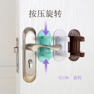 儿童防开门锁扣防宝宝开门防盗门防宠物狗猫开门小孩安全锁