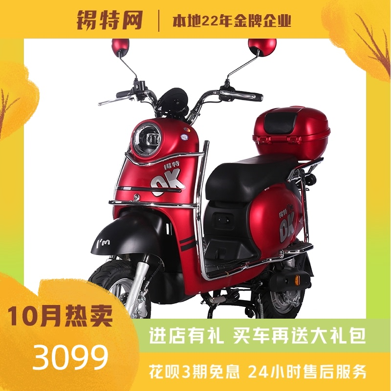 Site cool turtle new national standard electric bicycle can be licensed electric bicycle easy to ride lithium scooter with baby car