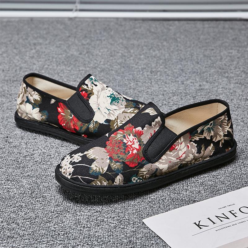 夏季透气百搭板鞋老北京布鞋男鞋