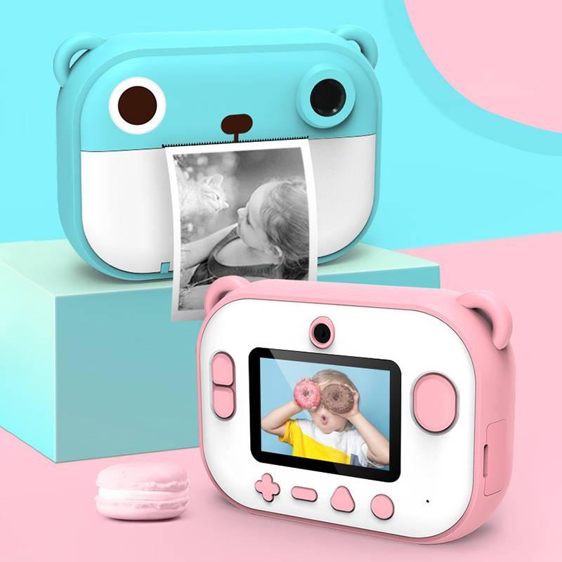 子供のデジタルカメラのおもちゃは写真を撮って印刷することができます。