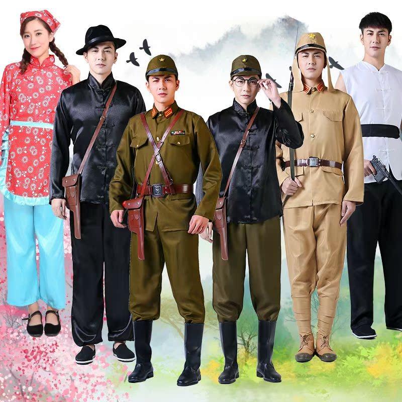 红歌日本演出服抗日故事经典整套角色扮演小鬼子日本兵演出鞋老式