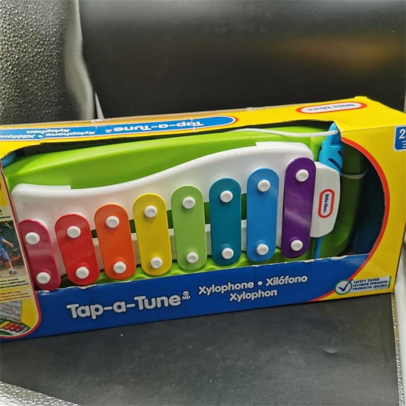 敲击手拉木琴宝宝音乐玩具婴幼儿童击打木琴乐器益智早教玩具
