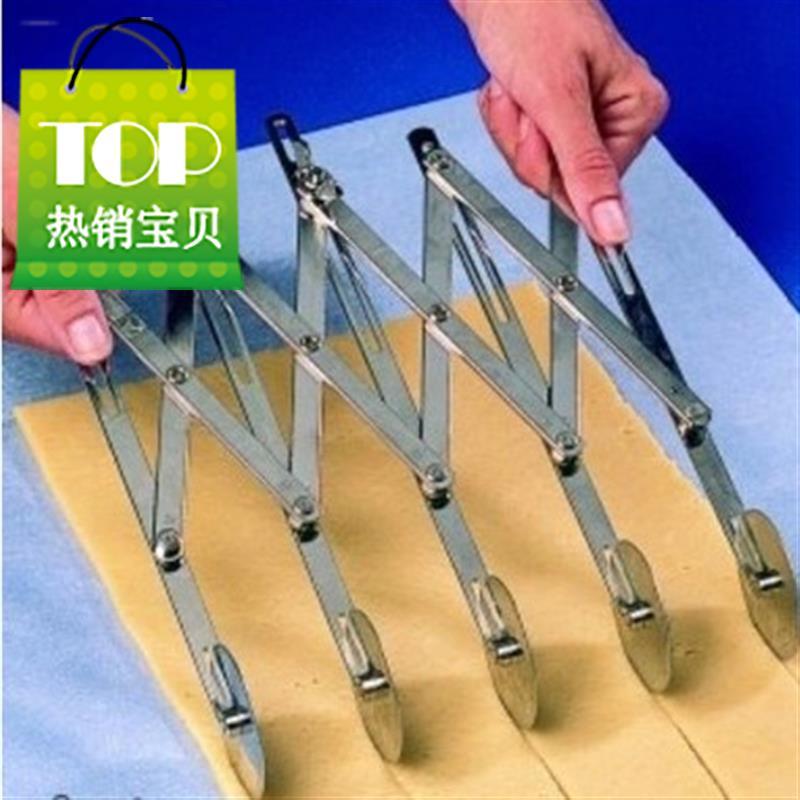 披萨多轮刀丹麦酥皮刀伸缩多轮刀披萨滚刀五轮刀七轮刀d烘焙工具